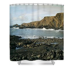 North Devon - Hartland Quay Shower Curtain