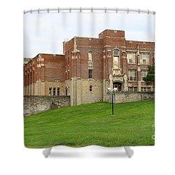 Harvard Elementary School 0690 Shower Curtain