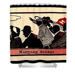 Harvard Scores 1905 Shower Curtain