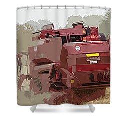 Harvest 4 Shower Curtain by Carol Lynch