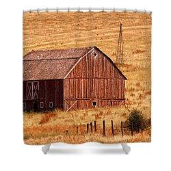 Harvest Barn Shower Curtain