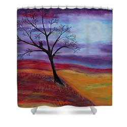 Harvest Moon 2 Shower Curtain