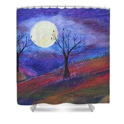 Harvest Moon 3 Shower Curtain