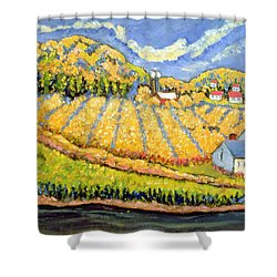 Harvest St Germain Quebec Shower Curtain by Patricia Eyre