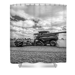 Harvest Time Shower Curtain by Dale Kincaid