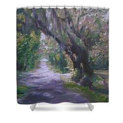 Hastings Florida Shower Curtain