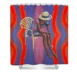 Hat 2 Shower Curtain by Patrick J Murphy