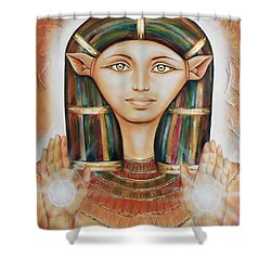 Hathor Rendition Shower Curtain