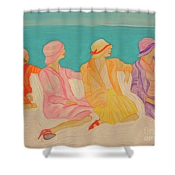 Hats By Jrr Shower Curtain by First Star Art