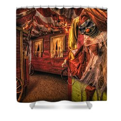Haunted Circus Shower Curtain