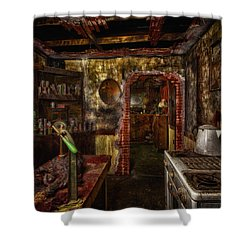 Haunted Kitchen Shower Curtain