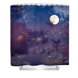 Haunted Moon Shower Curtain