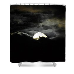 Haunting Horizon Shower Curtain by Al Powell Photography USA