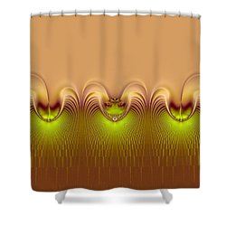 Shower Curtain featuring the digital art Haute Couture by Wendy J St Christopher
