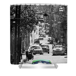 Havana 25c Shower Curtain by Andrew Fare