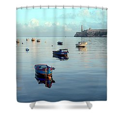 Havana Maritime 2 Shower Curtain