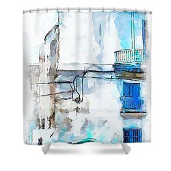 Havana Street Shower Curtain