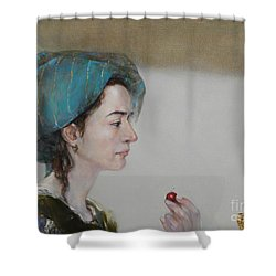 Have A Cherry Shower Curtain