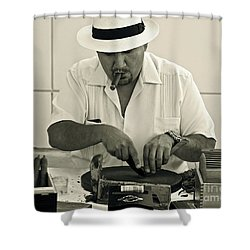 Have A Cigar Shower Curtain