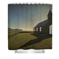 Have A Little Faith Shower Curtain by Evelina Kremsdorf