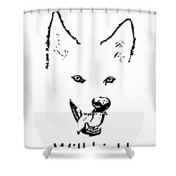 Have Tongue Will Lick Shower Curtain