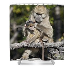 Shower Curtain featuring the photograph Have You Cleaned Behind Your Ears by Liz Leyden