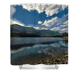 Haviland Lake Shower Curtain