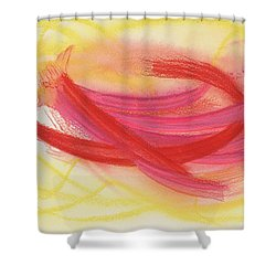 Having New Eyes Shower Curtain