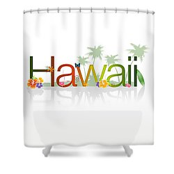 Hawaii Shower Curtain by Aged Pixel
