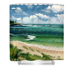 Hawaii Beach Shower Curtain