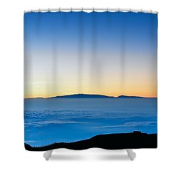 Shower Curtain featuring the photograph Hawaii Sunset by Jim Thompson