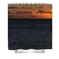Shower Curtain featuring the photograph Hawaiian Nights  by Heidi Smith