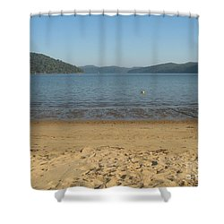 Shower Curtain featuring the photograph Hawksbury River From Dangar Island by Leanne Seymour