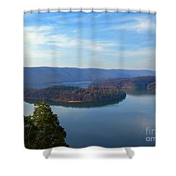 Hawn's Overlook Shower Curtain