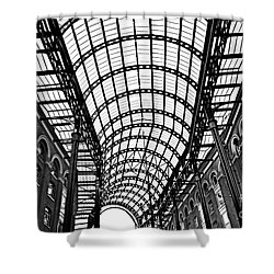 Hay's Galleria Roof Shower Curtain by Elena Elisseeva