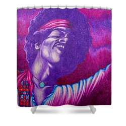 Haze Shower Curtain by Michael  TMAD Finney