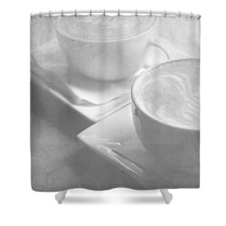 Hazy Morning Moments 2 Shower Curtain by Lisa Parrish