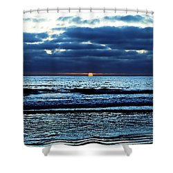 He Shall Be Great To The Ends Of The Earth Shower Curtain by Sharon Soberon