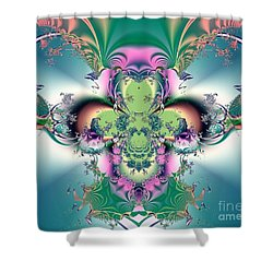 He Will Come Again In Glory Shower Curtain by Luther Fine Art