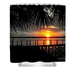 He Will Come Shower Curtain by Karen Wiles