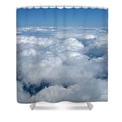 Head In The Clouds Art Prints Shower Curtain
