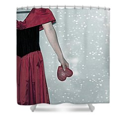 Headless Love Shower Curtain by Joana Kruse