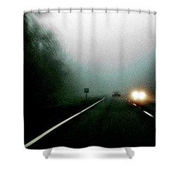 Headlights Shower Curtain