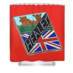 Healey Silverstone D Type Shower Curtain by Frozen in Time Fine Art Photography