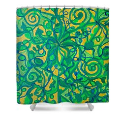 Healing And Nutrition Shower Curtain