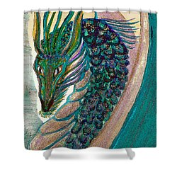 Healing Dragon Shower Curtain