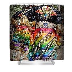 Healing Dress Shower Curtain