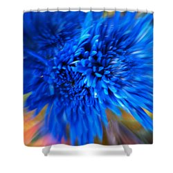 Shower Curtain featuring the photograph Healing Of A Flower by Sherri  Of Palm Springs