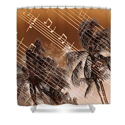 Shower Curtain featuring the photograph Hear The Music by Athala Carole Bruckner