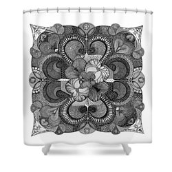 Heart To Heart Shower Curtain